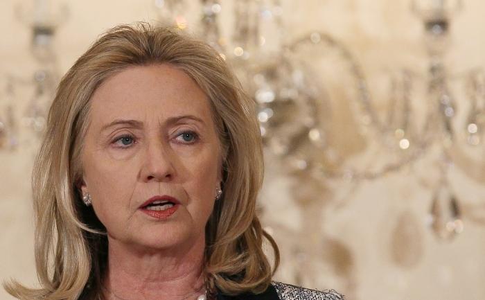 Fostul secretar de stat american, Hillary Clinton.