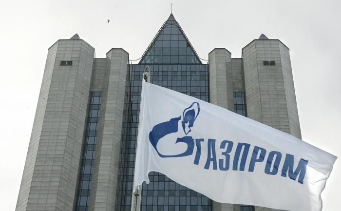 Vedere generală a sediului de la Moscova al companiei ruse de gaz Gazprom.
