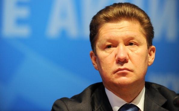 Preşedintele Gazprom, Aleksei Miller.