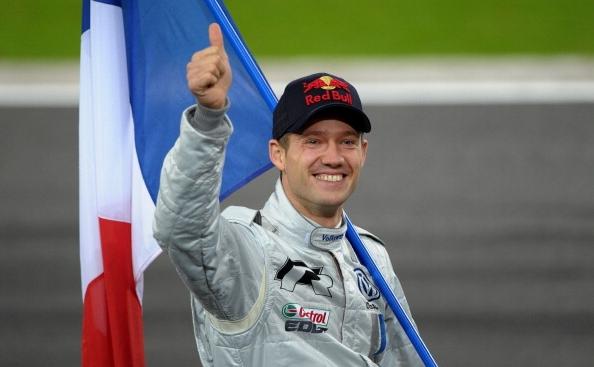 Pilotul francez Sebastien Ogier.