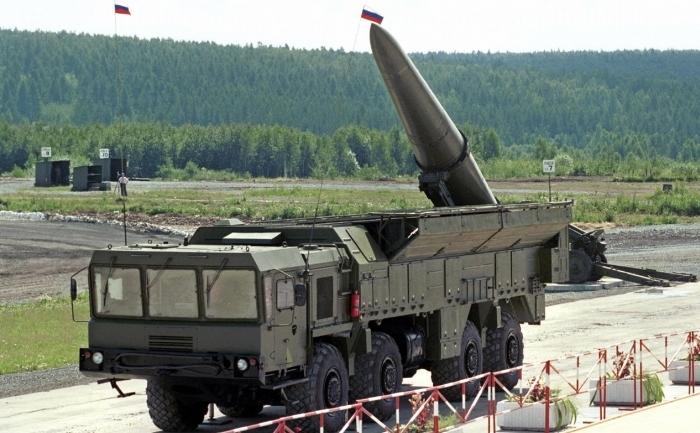 Rachetă rusească de tip Iskander.