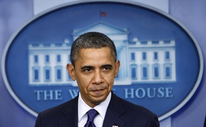 Barack Obama, la o conferinţă de presă la Casa Albă.