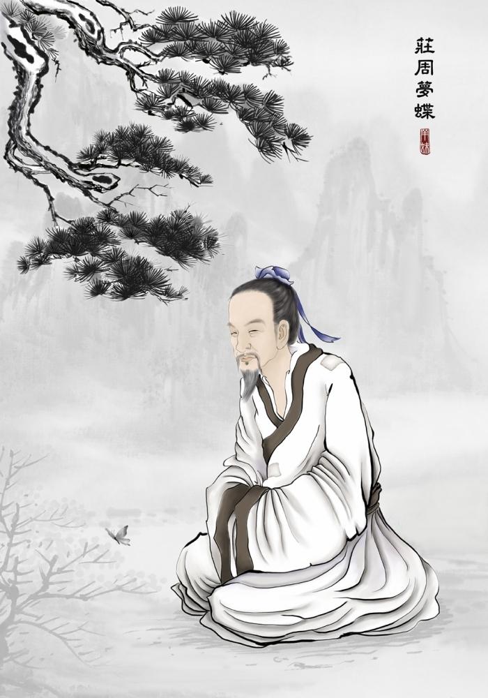 Chuang Tzu - patriarhul taoismului, împreună cu Laozi
