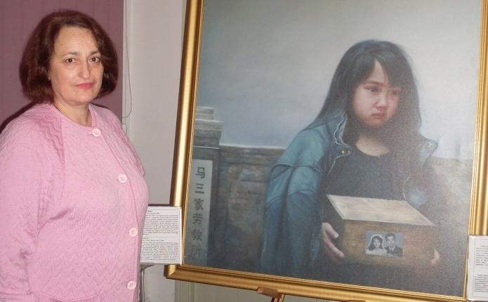 "Anastasia Moldovanu, bibliotecar principal, Biblioteca de Arte ""Tudor Arghezi"""