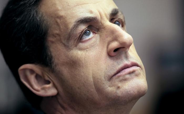 Nicolas Sarkozy în Metz, 1 ianuarie 2012