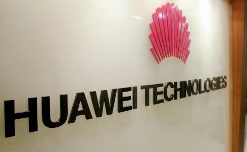 Logo-ul companiei chineze Huawei Technologies Co Ltd.