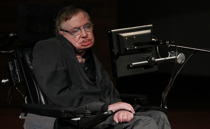 Fizicianul britanic Stephen Hawking