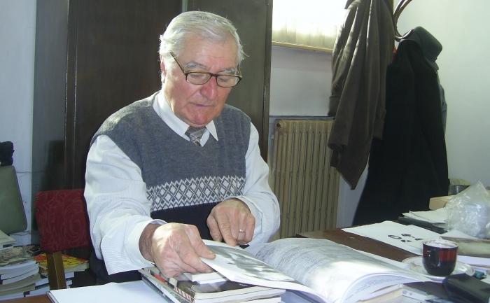 Dl Petre Vişan, preşedintele Asociaţiei Foştilor Deţinuţi Politici, filiala Teleorman
