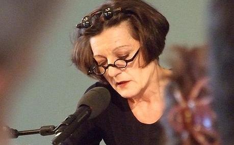Scriitoarea germană originară din România, Herta Müller.(arhivă)