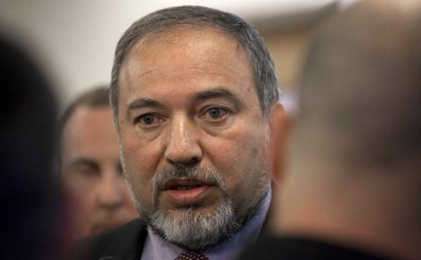 Ministrul israelian de externe Avigdor Lieberman.