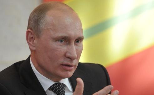 Premierul rus, Vladimir Putin.