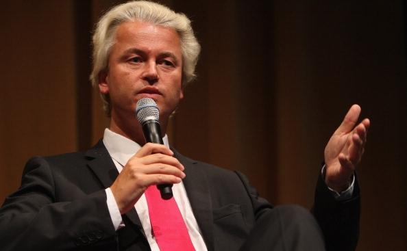 Politicianul olandez de extremă-dreapta Geert Wilders.