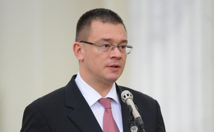 Prim-ministrul român, Mihai Răzvan Ungureanu.