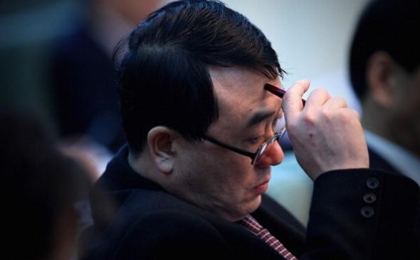 Wang Lijun, fostul şef al Biroului de Securitate Publică din Chongqing,  participă la o reuniune în timpul Congresului Naţional al Poporului în  Beijing, China, 6 martie 2011.