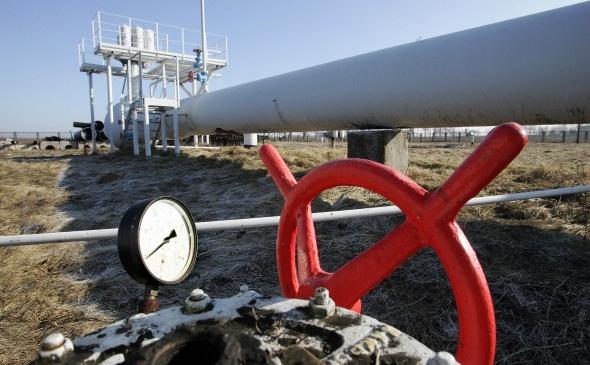 Conductă de gaz lângă Kiev