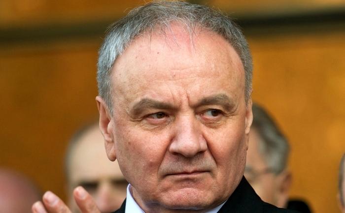 Noul şef al statului moldovean, Nicolae Timofti.