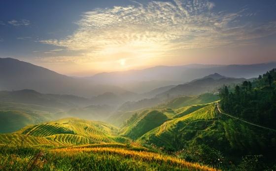 Zorii unei zile în China