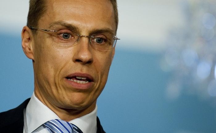 Ministrul finlandez pentru afaceri europene, Alexander Stubb.