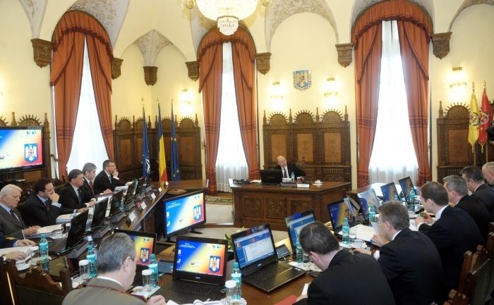 Şedinţa Consiliului Suprem de Apărare a Ţării.