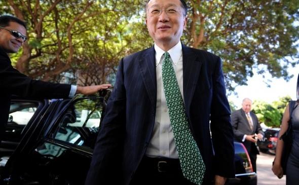 Jim Yong Kim, preşedintele băncii mondiale