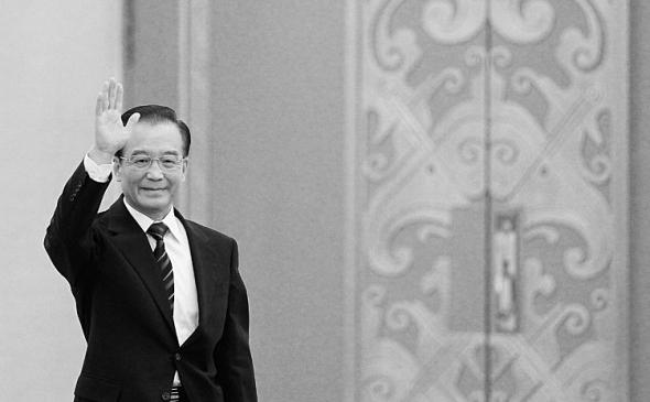 Premierul chinez Wen Jiabao, 14 martie 2012 în Beijing, China