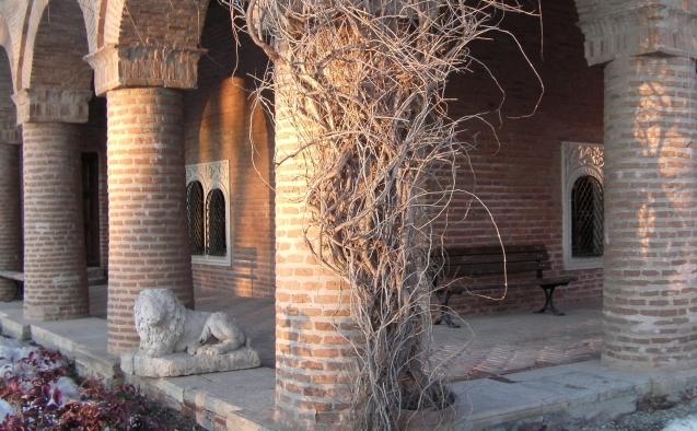 Cuhnia palatului brancovenesc de la Mogosoaia.