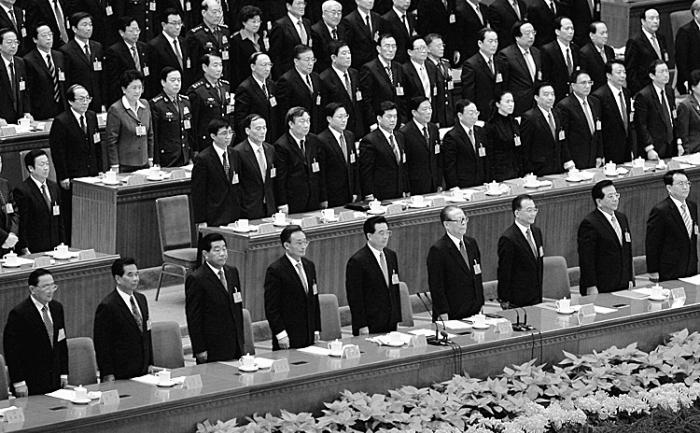 Cel de-al XVII-lea Congres al Partidului Comunist Chinez, desfăşurat la 21 octombrie 2007 în Beijing. Puţin cunoscutul Comitet pentru Afaceri Politice şi Legislative a devenit un al doilea centru al puterii.