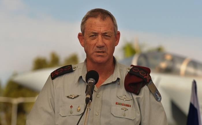 Generalul israelian Benny Gantz