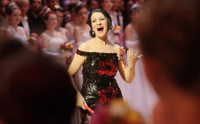 Soprana română, Angela Gheorghiu.