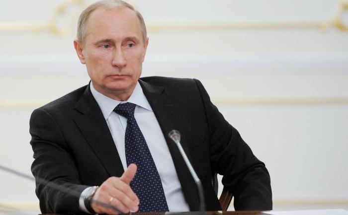 Primul ministru rus, Vladimir Putin.