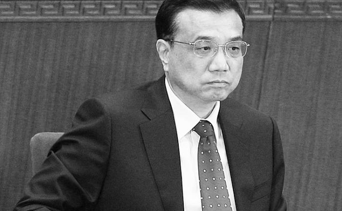 Premierul chinez Li Keqiang, 3 martie 2012, Beijing, China.