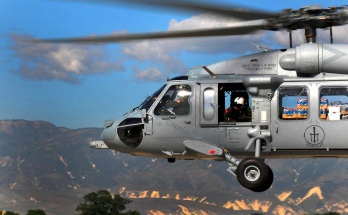 Un elicopter american SH-60 Seahawk