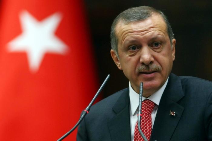 Premierul turc Recep Tayyip Erdogan în Ankara, 26 iunie 2012