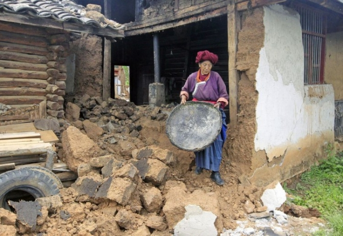 Cutremur în provincia Yunnan, sud-vestul Chinei