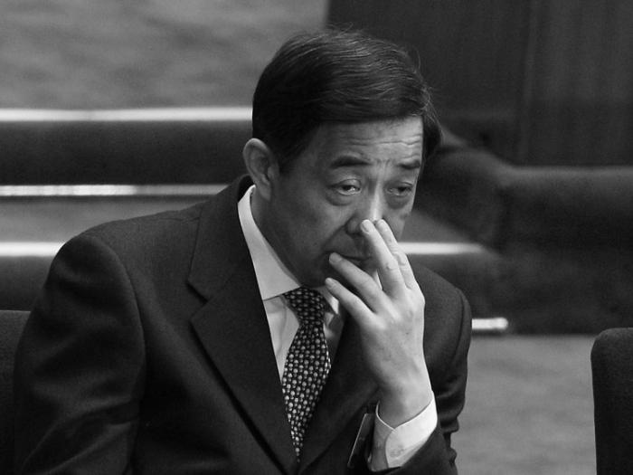 Bo Xilai participând la Congresul Naţional al Poporului din Beijing, 5 martie 2012