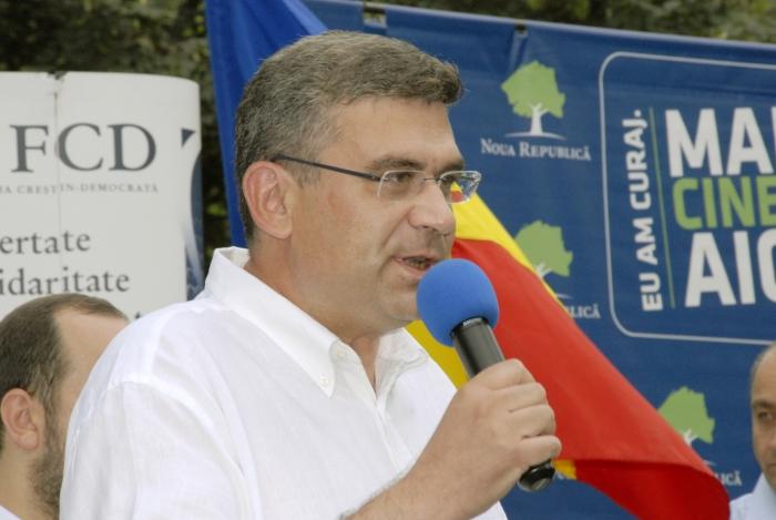 Semnare protocol între FCD şi Mişcarea Noua Românie.Protocolul a fost semnat de Teodor Baconschi şi Mihail Neamţu