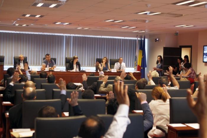 Consiliul General al Primăriei Municipiului Bucureşti.Consilierii îşi aleg viceprimarii.