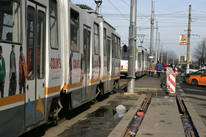 Tramvai în Bucureşti
