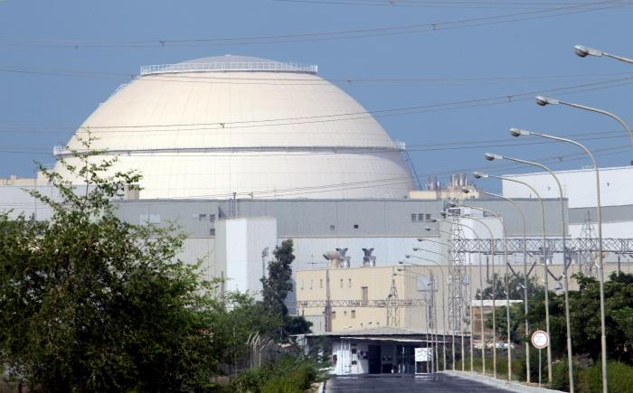 Reactorul nuclear de la Bushehr, la 1200 km de Teheran, august 2010
