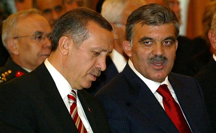 Preşedintele Turciei, Abdullah Gul şi premierul Recep Tayyip Erdogan.