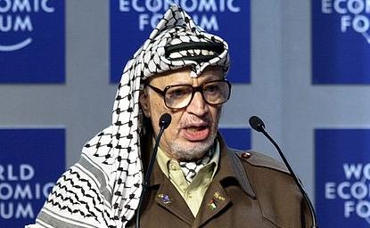 Fostul lider al Autorităţii Naţionale Palestiniene (ANP), Yasser Arafat. (arhivă)