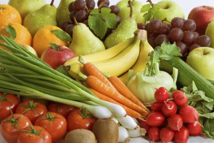 Pentru a ne lua aportul de minerale trebuie să includem în regimul nostru alimentar legume şi fructe