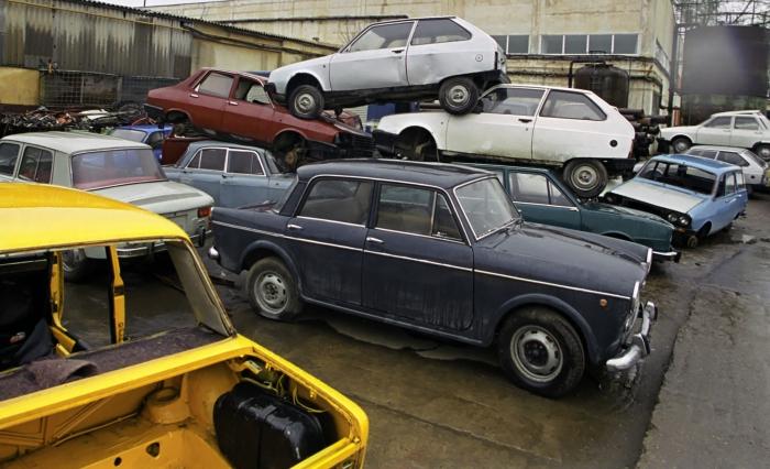 Maşini casate la REMAT, programul rabla