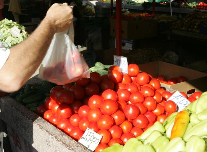 Piaţă agro alimentară,legume şi fructe, preţuri