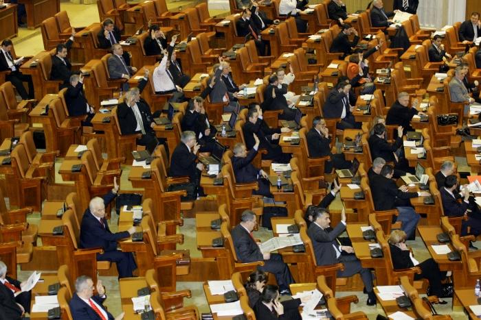 Vot în Parlamentul României