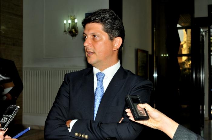 Titus Corlăţeanu conferinţă de presă la MAE