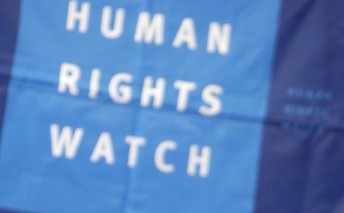 Organizaţia internaţională, Human Rights Watch (HRW).