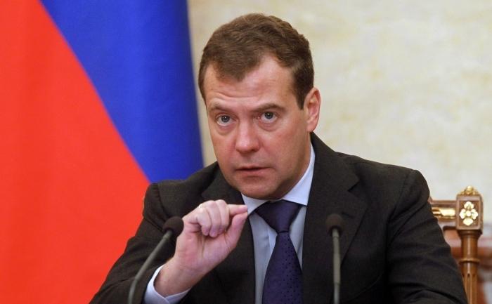 Premierul rus Dimitri Medvedev.