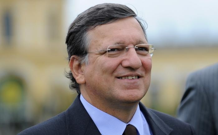 Preşedintele Comisiei Europene, José Manuel Barroso.