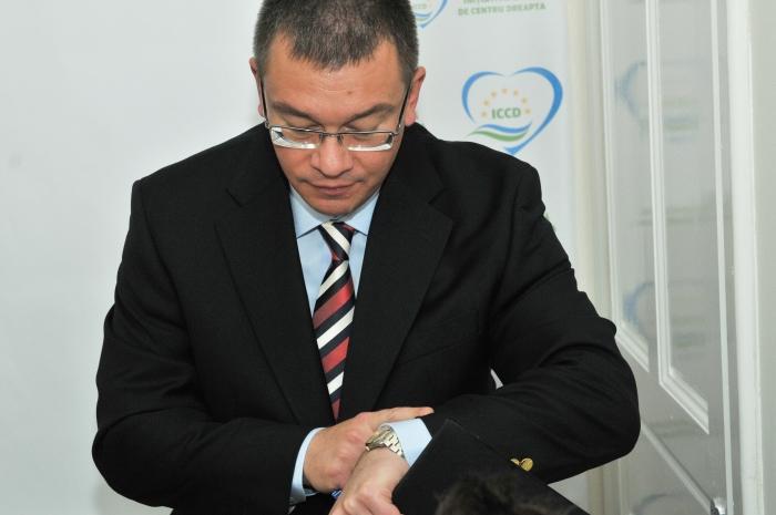 Mihai Răzvan Ungureanu, MRU, preşedinte Partidul Forta Civica